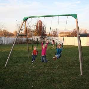 Lifetime 10 Swing Set Outdoor Play