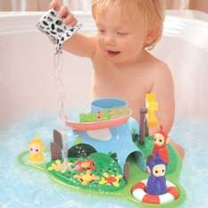 Toys » Teletubbies Floating Bath Island Bath Toy