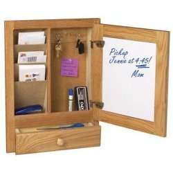 with this easy to use wall mounted organizer for the whole family