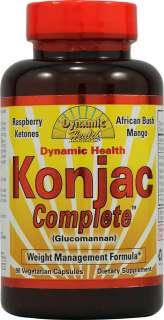 Dynamic Health Konjac Complete    90 Vegetarian Capsules   Vitacost