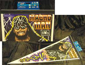 Macho Man Randy Savage WinCraft Sports Event Pennant !