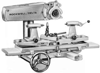 ROCKWELL Tool Cutter Grinder Attachment 24 822 Manual