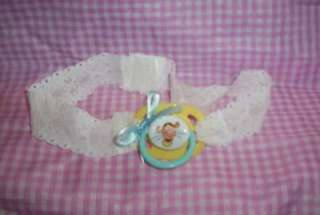 ADULT SISSY BABY STRAP ON TIME OUT PACIFIER BLUE DISNEY FUN FOR PLAY