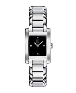 ESQ by Movado Watch, Womens Black Venture 07100905   For Her ESQ by