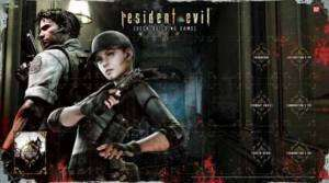 Resident Evil DBG Card Game   Chris & Jill Game Mat NEW
