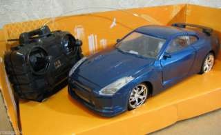 Victor High Power Full Function Radio Control Blue Car