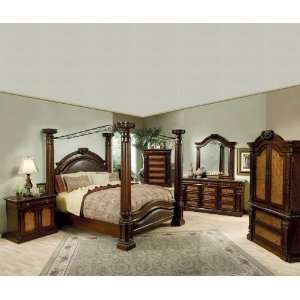 Montecito II Eastern King Bedroom 5PC Set: Includes King