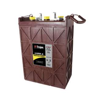 Trojan L16RE A 6V 325Ah Lead Acid Deep Cycle Battery