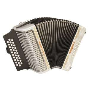 Hohner Accordions 3500GW 43 Key Accordion: Musical