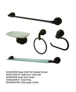Kingston Brass Bathroom accessory set Oil rubbed bronze CLEARANCE