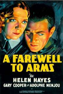 A Farewell To Arms Helen Hayes, Gary Cooper, Adolphe