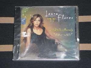 LAURA FLORES Soy Yo con Banda y Mariachi (2008 CD NEW)