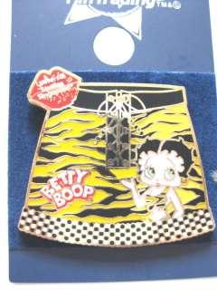 Universal Studios Singapore Betty Boop Jungle Pin