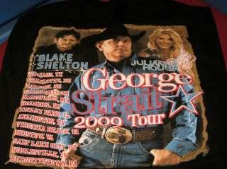 GEORGE STRAIT Blake SHELTON Julianne HOUGH Country Concert 2009 Tour T