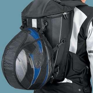 Aero Pack Motorcycle Backpack Helmet Holder Rain Cover 107274