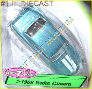 CHEVROLET YENKO CAMARO THE FAST AND THE FURIOUS DIECAST RC RARE