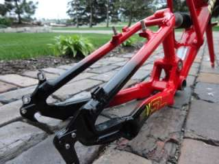 CANNONDALE Super V SL HEADSHOK Fatty D full suspension MTB Frame 18