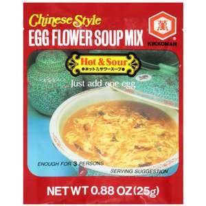 Kikkoman Chinese Style Egg Flour Mix Hot & Sour Soup, .88
