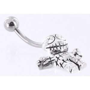14g 7/16 VOODOO DOLL Belly Button Navel Jewelry Jewelry