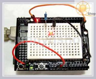 Prototyping Prototype Shield ProtoShield Kit + Mini Breadboard For