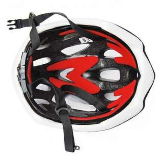 Cycling Bicycle MERIDA Adult Mens Bike Helmet RED with Visor