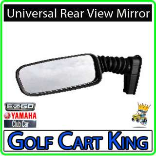 Golf Cart Side Rear View Mirror EZGO Club Car Yamaha