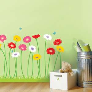 Garden Adhesive Removable Home Wall Decor Accents Stickers Decals