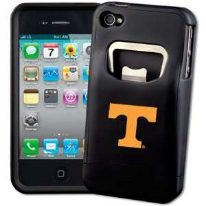 NCAA Tennessee Volunteers Black Bottle Opener iPhone 4 Cover