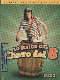 LO MEJOR DEL CHAVO DEL 8 – PACK 1, LIMITED DELUXE EDITION. FACTORY