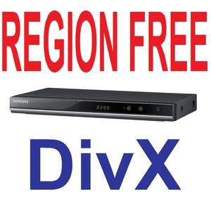 Samsung Multi Region Code Free PAL NTSC DVD Player DivX
