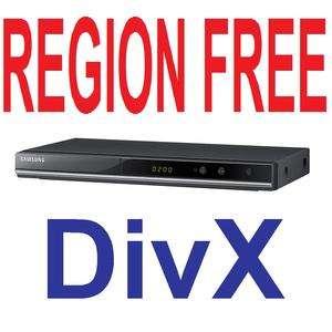 Samsung Multi Region Code Free PAL NTSC DVD Player DivX