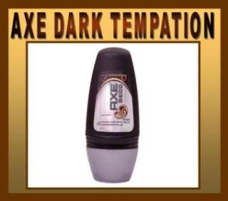 40ml AXE DARK TEMPATION Deodorant ROLL ON 24h Formula