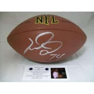Michael Oher Signed Football   Autographed Footballs