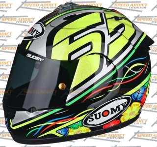 Suomy Excel Capirossi 2012 Full Face Helmet Large