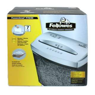 Fellowes Powershred P70CM Cross Cut Paper Shredder
