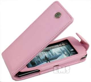 London Magic Store   BABY PINK FLIP LEATHER CASE COVER FOR LG