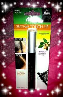 Kiss quick Cover Gray Hair Touch Up with Mascara Type