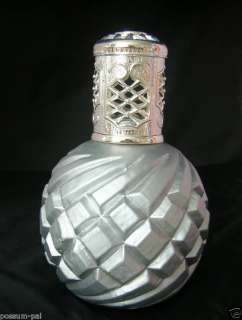 Catalytic Fragrance Lamp Silver Swirl Large