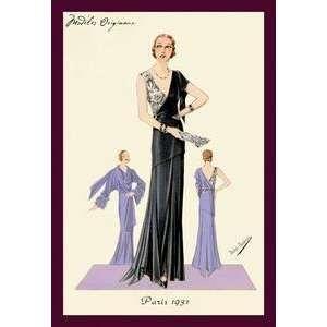 Vintage Art Modeles Originaur: Fashions for a Starlet   Giclee Fine