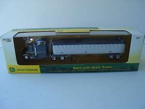 ERTL JOHN DEERE SEMI TRACTOR TRAILER TRUCK 1/64 DIE CAST TOY NIB