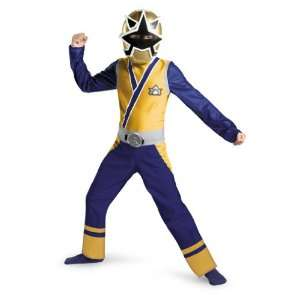 Power Rangers Samurai Gold Ranger Classic Child Costume