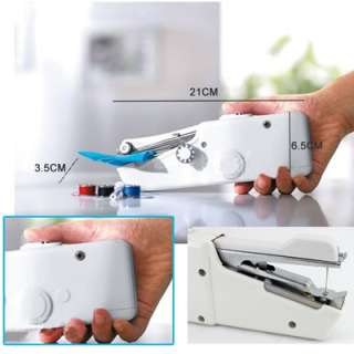 Mini Portable Cordless Hand Held Clothes Sewing Machine MI36