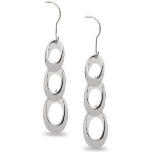 Skagen Denmark Womens Jewelry Silver Open Earrings #JES0002 Skagen