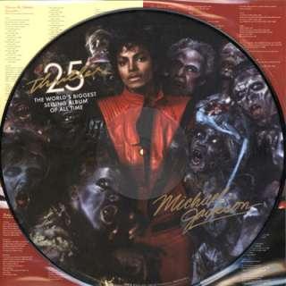 Michael Jackson Thriller 25th LP Picture Disc Vinyl NEW