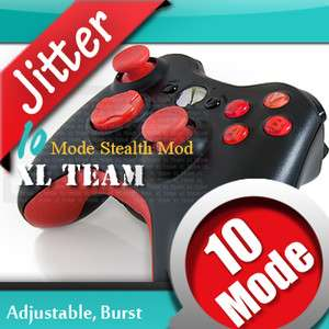 10 MODE XBOX 360 RAPID FIRE RED MOD CONTROLLER FOR COD