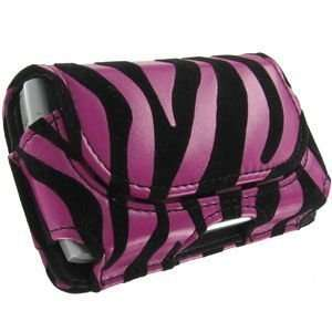 Apple iPod Touch Pink Zebra w/Black Velvet Stripes