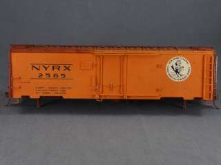 TRAINS   NYRX #2565 CUSTOM BOX CAR   O SCALE BRASS MODEL TRAIN
