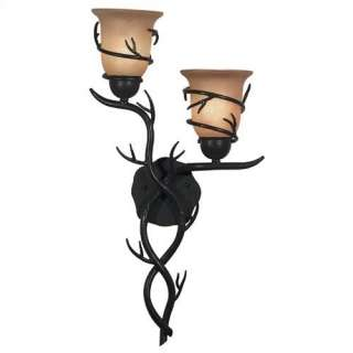 Kenroy Home Twigs Wall Sconce in Bronze Decor