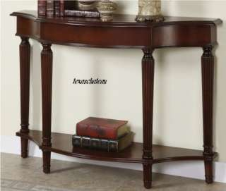 CHERRY WOOD ENTRY HALL ACCENT SOFA CONSOLE TABLE XL