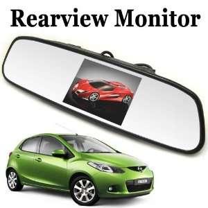 Inch Color Digital TFT LCD Screen Car Rear View Mirror Monitor